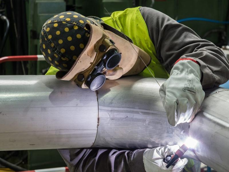 Как варить трубы отопления и водопровода - Фото