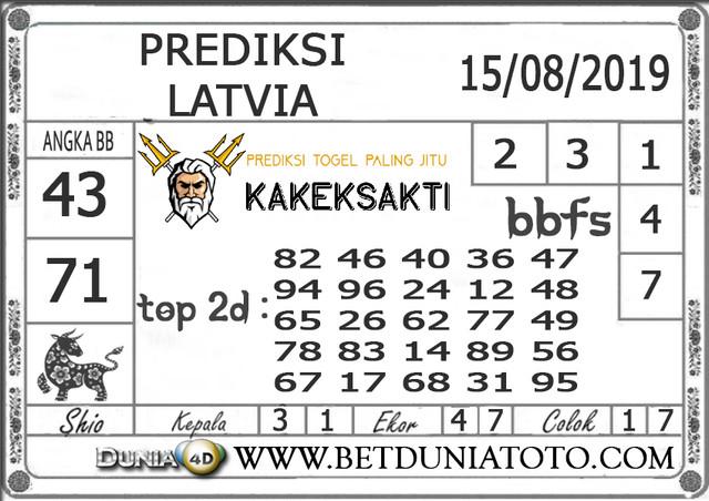"Prediksi Togel ""LATVIA"" DUNIA4D 15 AGUSTUS 2019"
