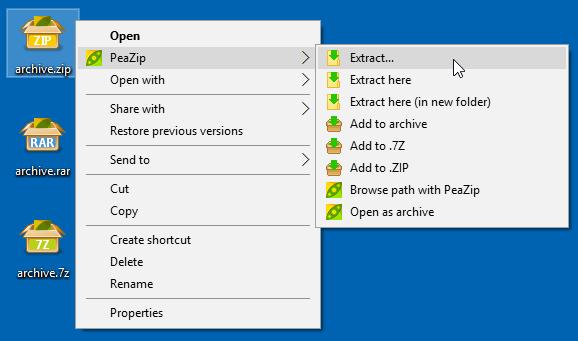 PaeZIP, una de las mejores alternativas gratis a WinRAR.