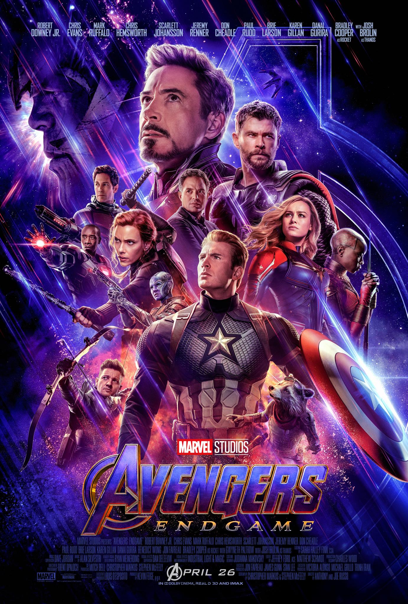 Avengers Endgame (2019) Hindi Dual Audio HDRip 720p