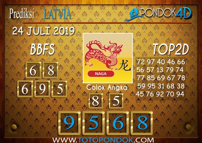 Prediksi Togel LATVIA POOLS PONDOK4D 24 JULI 2019