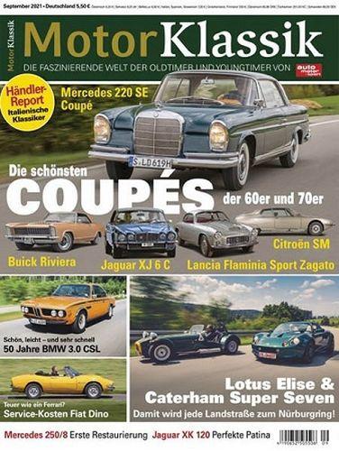 Cover: Auto Motor Sport Motor Klassik Magazin No 09 September 2021
