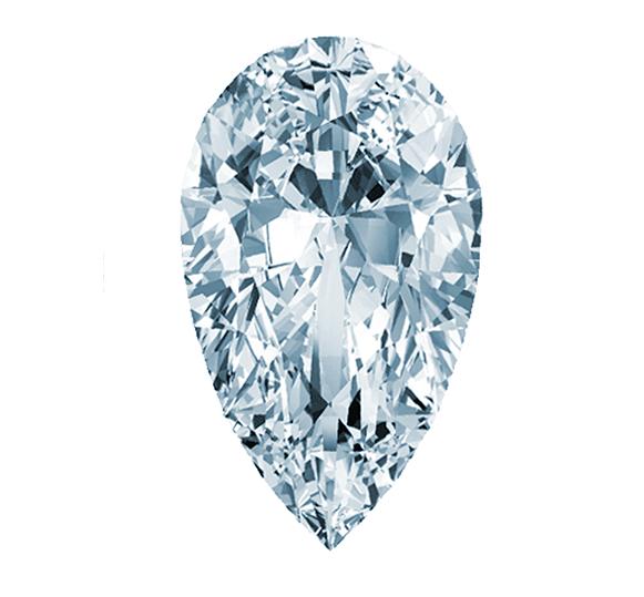 Pear-Shaped-Diamond
