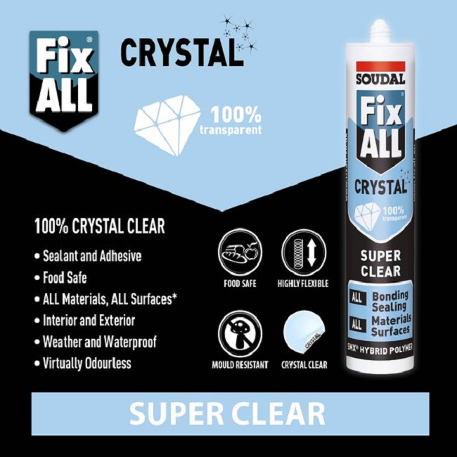 Soudal-Fix-All-Crystal-Super-Clear-MS-Polymer-Sealant-Adhesive-118779-Demo