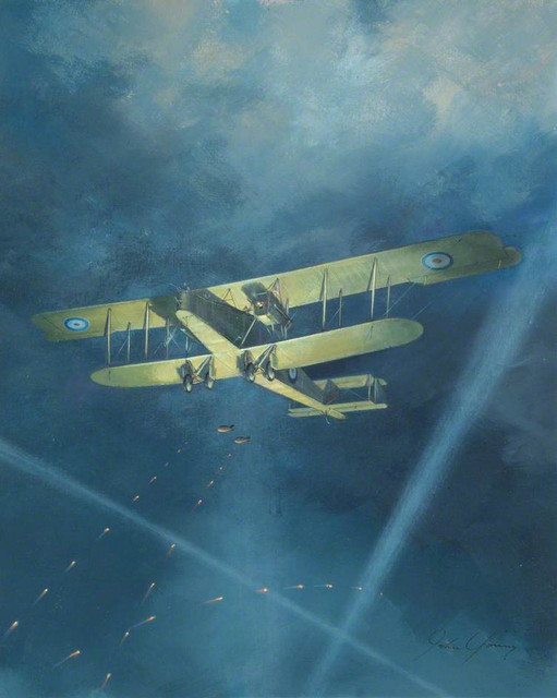 Young John Handley Page 0 400 Royal Air Force Museum http www artuk org artworks handley page 0400 1