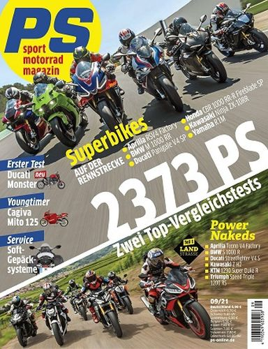 Cover: Ps Motorradmagazin No 09 September 2021