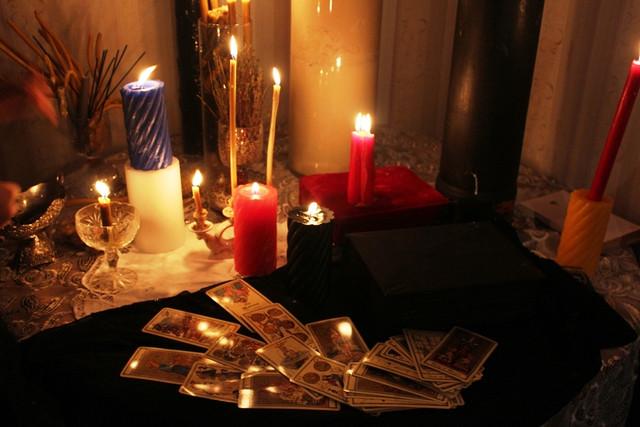 Магия свечей. Prednovogodnee-gadanie