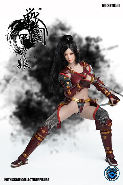 SUPER DUCK New Product:1/6 Sengoku Period Armored Female Warrior SET050 170537bpkffrpfk7kxar71