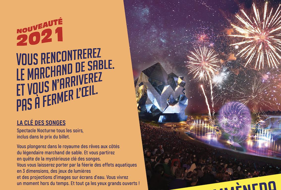 La Clé des songes (nouveau spectacle nocturne) · février 2021 2021-Brochure-groupes-p10-La-Cle-des-songes