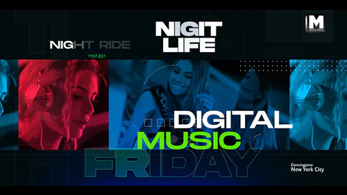 Digital Music Party 32658484 - Project for After Effects (Videohive)