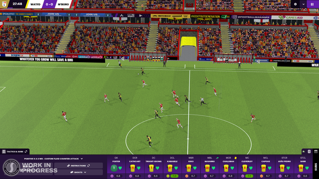 FOOTBALL MANAGER 2021 – BETA 版已釋出 Watford-ME-EN