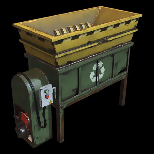 Rust - Для чего нужен Гриндер (переработчик)?