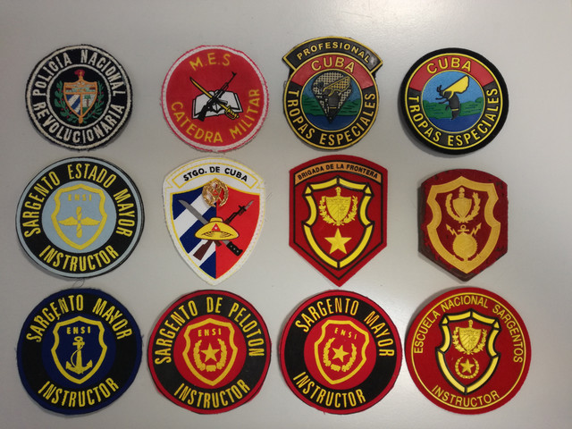 Cuban military patches IMG-20181226-153626