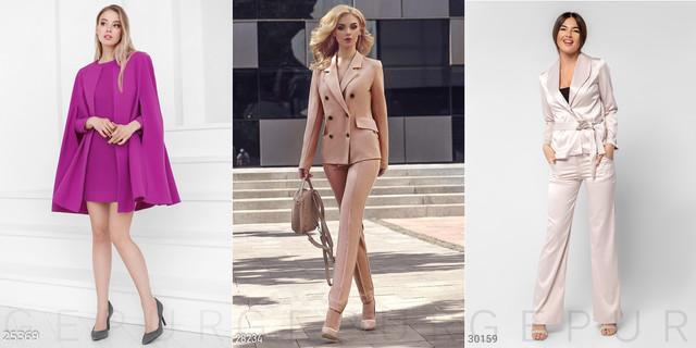 жіночі офісні костюми фото