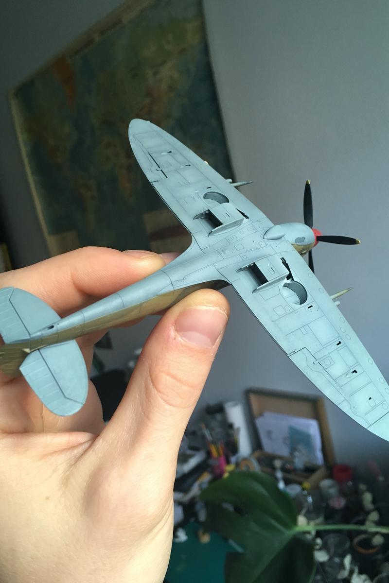 Spitfire Mk IX - Eduard 1:72 - Page 2 IMG-1620