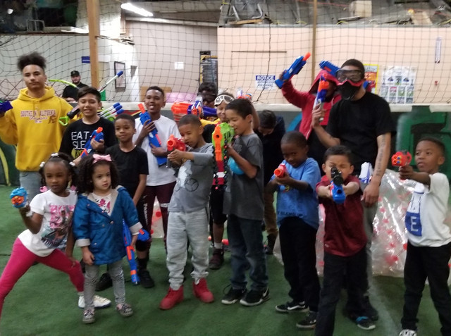 Nerf Gun Party in Los Angeles in our Indoor Nerf Arena on 2/16