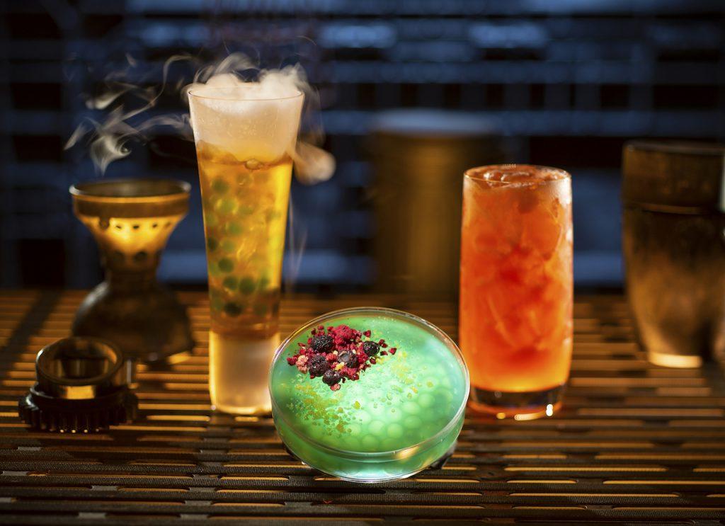 Star Wars Galaxy's Edge drinks Oga's Cantina