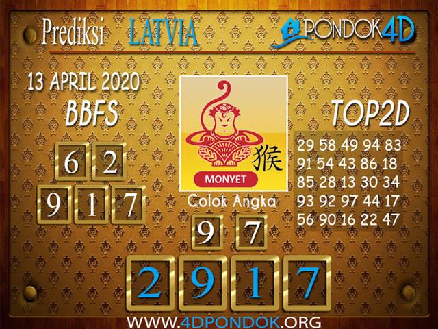 Prediksi Togel LATVIA POOLS PONDOK4D 13 APRIL 2020