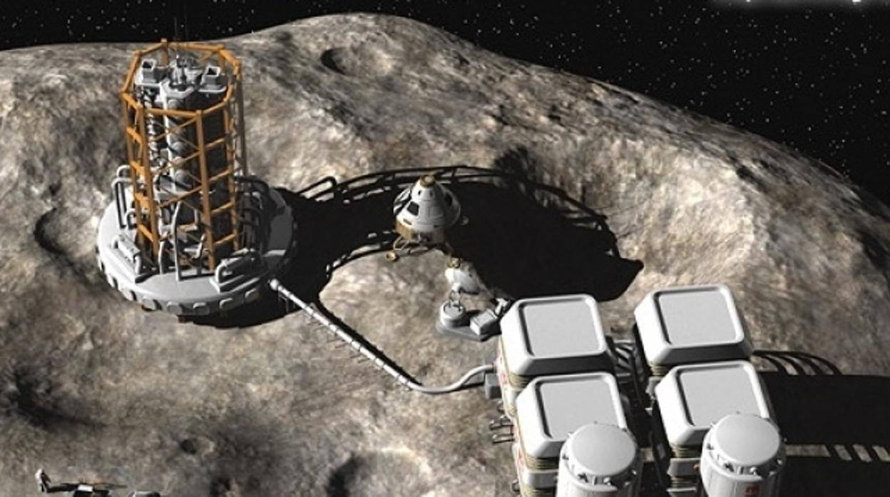 ¿Viviremos dentro de un asteroide?