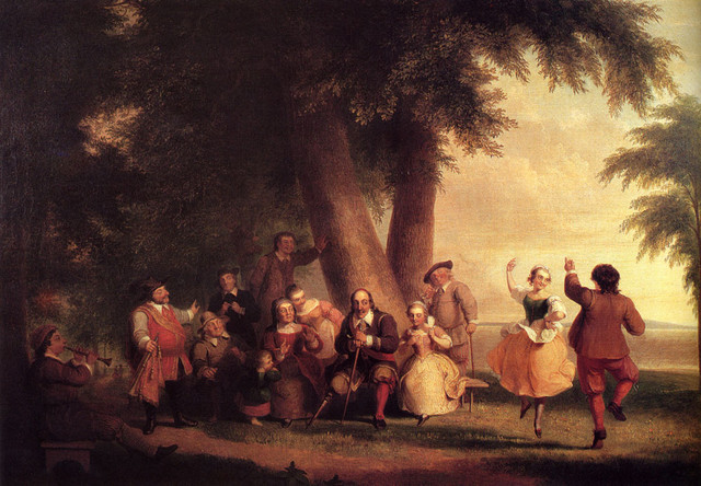 Durand-Asher-Brown-The-Dance-Of-The-Battery-In-The-Presence-Of-Peter-Stuyvesant