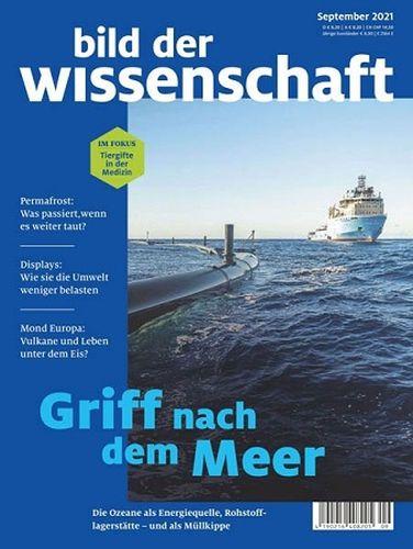 Cover: Bild der Wissenschaft Magazin No 09 September 2021