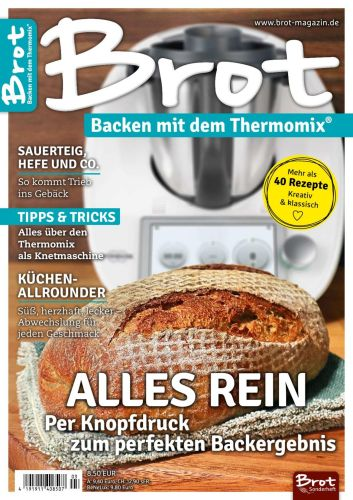 Cover: Brot backen Mit Dem Thermomix Magazin No 03 2021
