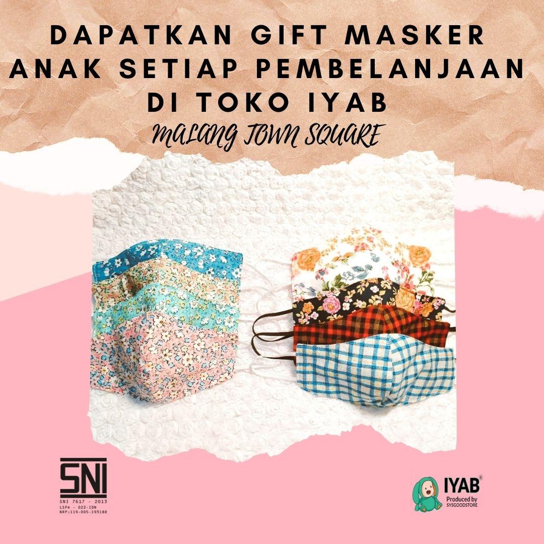 masker gratis iyab