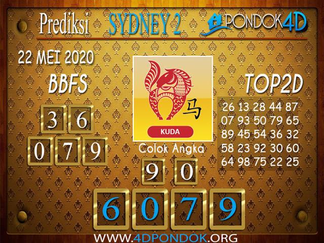 Prediksi Togel SYDNEY 2 PONDOK4D 22 MEI 2020