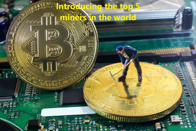 Introducing the top 5 miners in the world