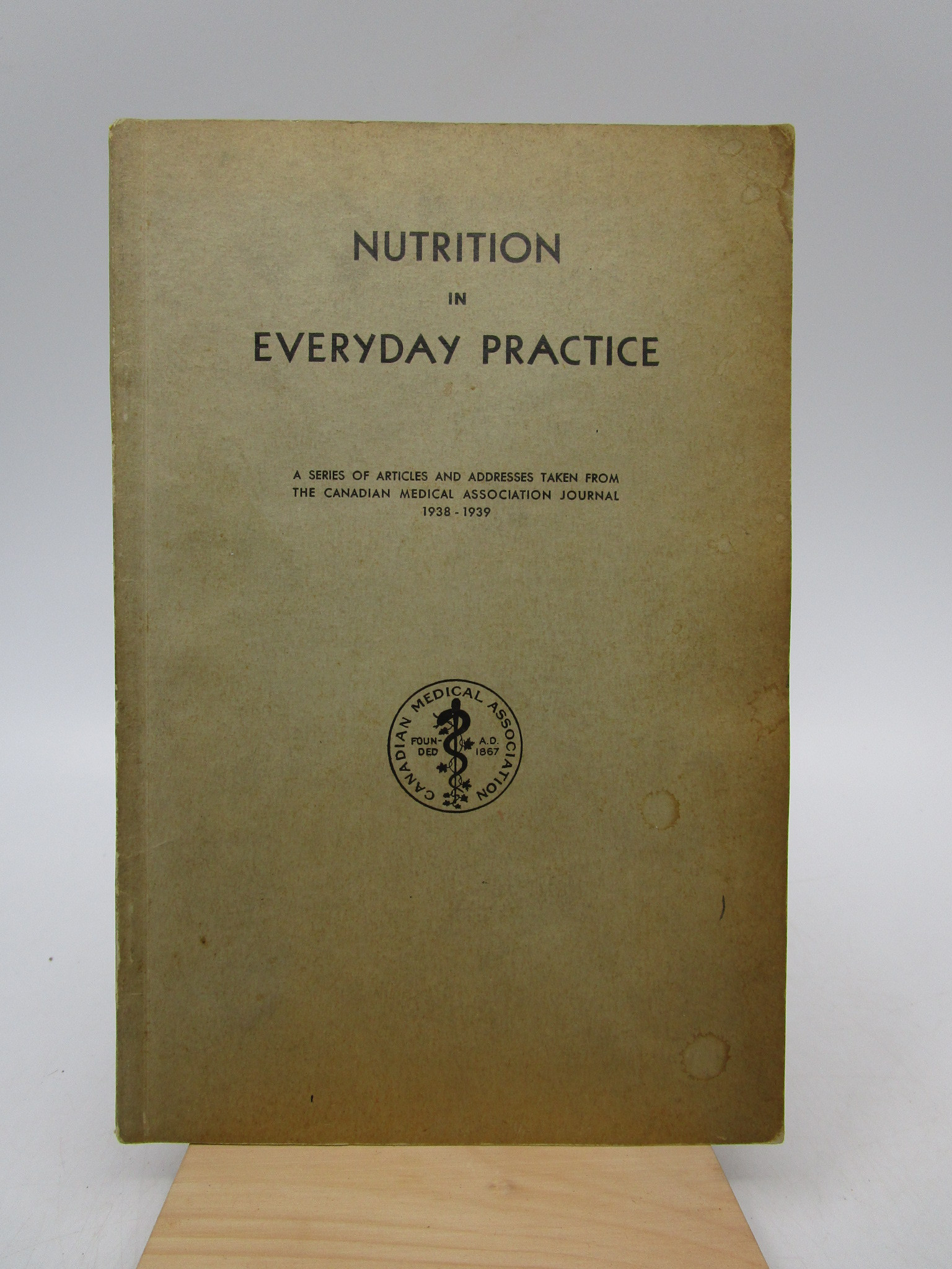 Image for Nutrition in Everyday Practice