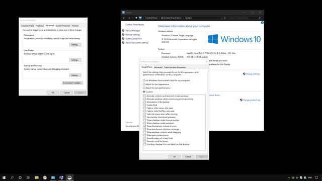 Windows-performance