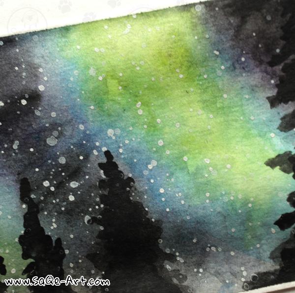 Aurora Borealis - SaQe-Art.com