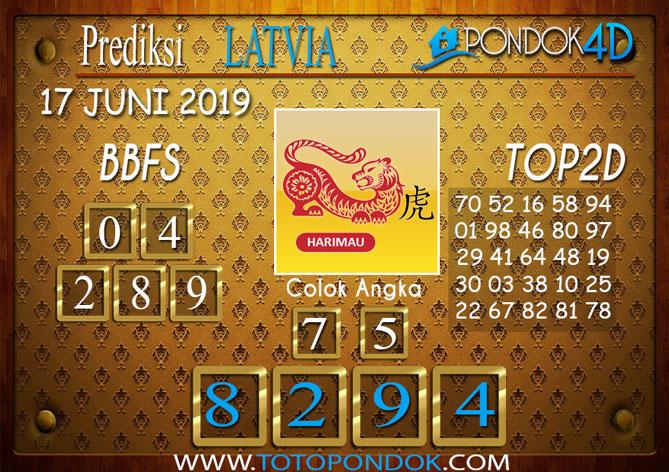 Prediksi Togel LATVIA PONDOK4D 17 JUNI 2019