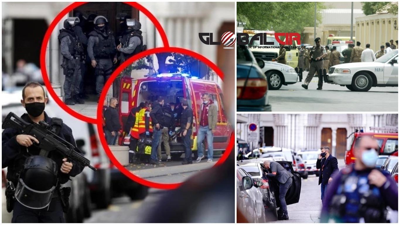 TRI NAPADA U NEKOLIKO SATI, NIŽU SE REAKCIJE SVJETSKIH LIDERA, STIGLA OSUDA IZ TURSKE?! Nakon stravičnog krvoprolića u Nici, uslijedio napad u Avinjonu i u blizini francuskog konzulata u Džedi!