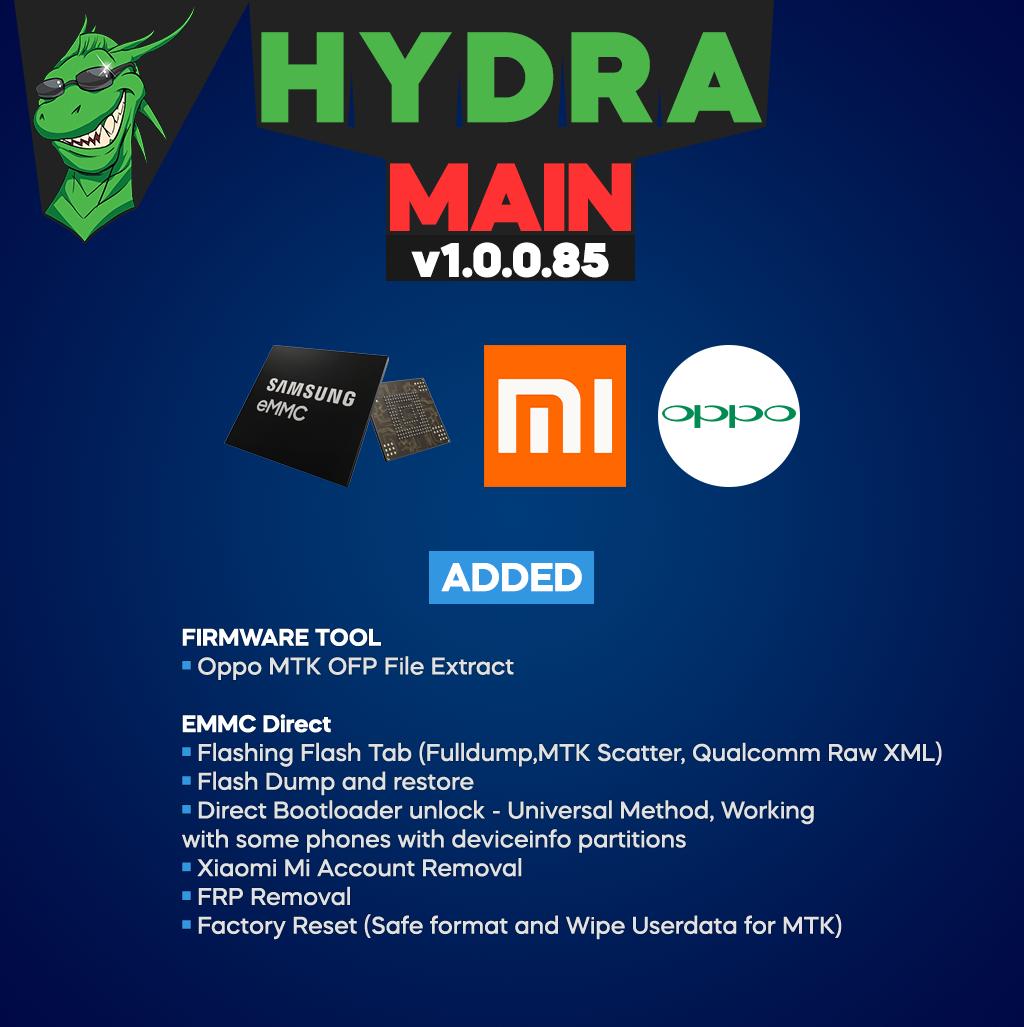 [تحديثات] Hydra MainTool v1.0.0.85 For-facebook