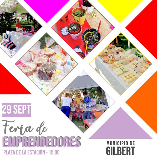 Regionales: GILBERT: FERIA DE EMPRENDEDORES LOCALES
