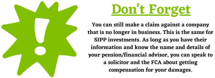 SIPP investments
