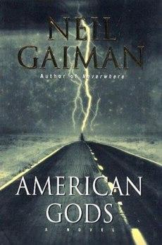 """Capa do livro """"American Gods"""""""