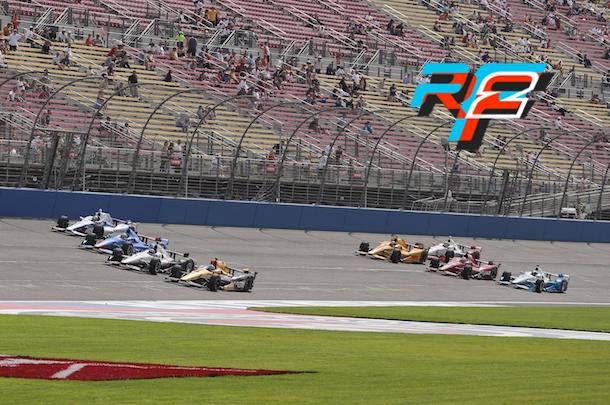VRC Indycar 2018 - Round 12 - Fontana