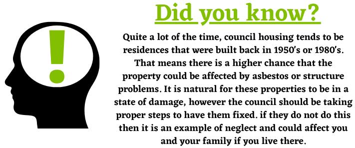 Council Housing Dates