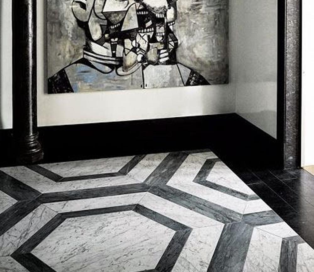 desain lantai granit Bee Granite Design