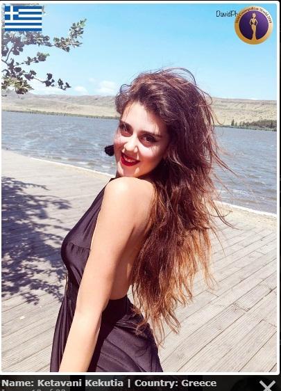 candidatas a miss cosmopolitan world 2019. final: 25 oct. Miss-greece