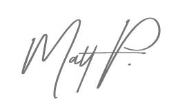Matt Porter Signature
