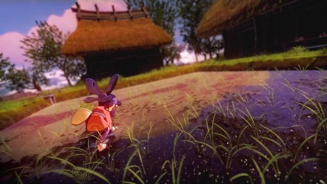 和風動作RPG《天穗之咲稻姬》近日公開一組新遊戲截圖,展示了鋤地、施肥、插秧、收穫耕種等要素。 Image