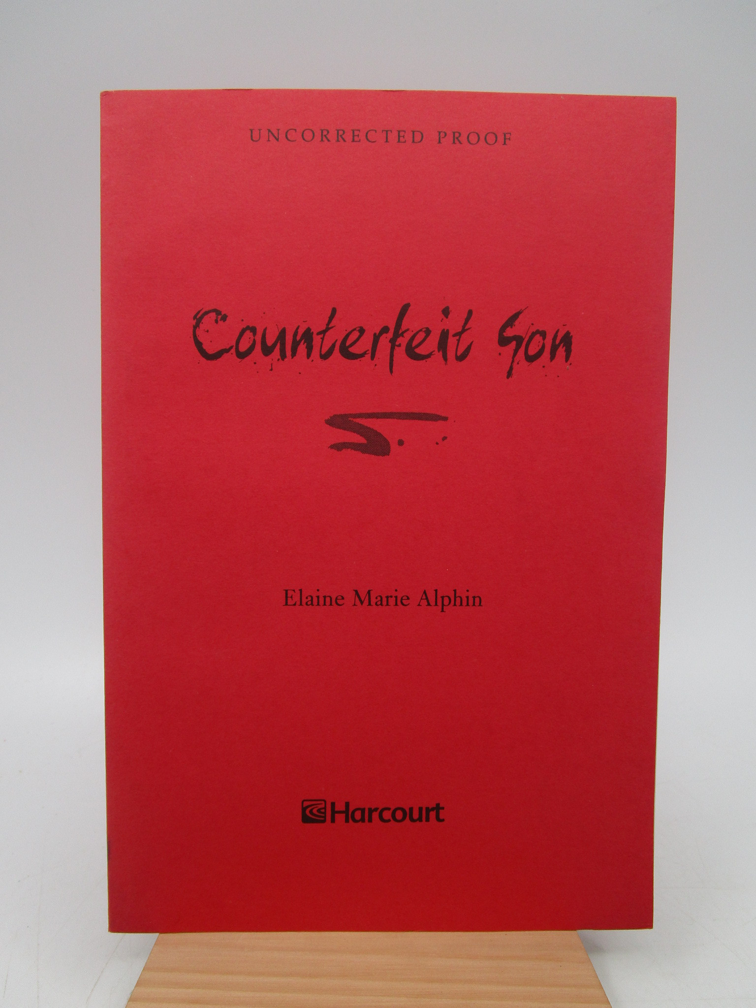 Image for Counterfeit Son (uncorrected proof)