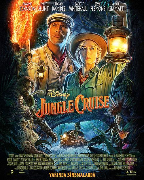 Orman Gezisi   Jungle Cruise   2021   m720p - m1080p   BluRay   Türkçe Altyazılı   Tek Link