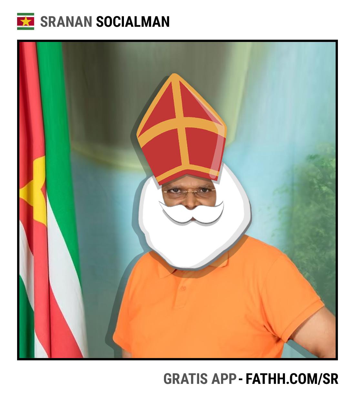 Sranan Socialman : Sinterklaas