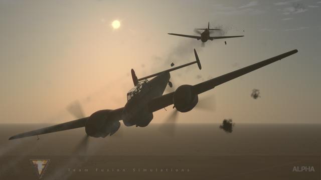 Kittyhawk-v-Bf-110