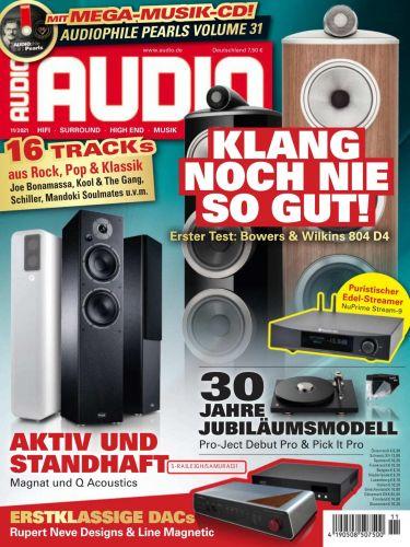 Cover: Audio Magazin No 11 November 2021