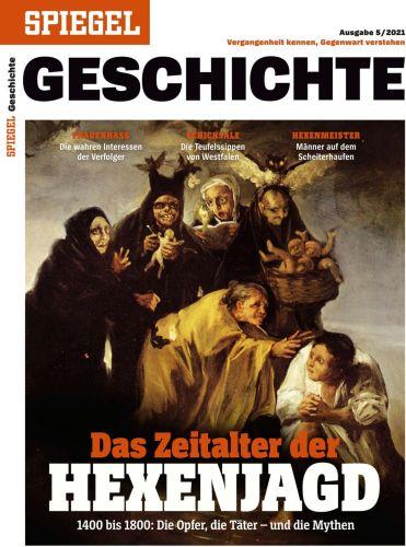 Cover: Der Spiegel Geschichte Magazin (Hexenjagd) No 05 2021